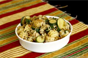 Zucchini Radiatore (Vegetarian Pasta Recipe)