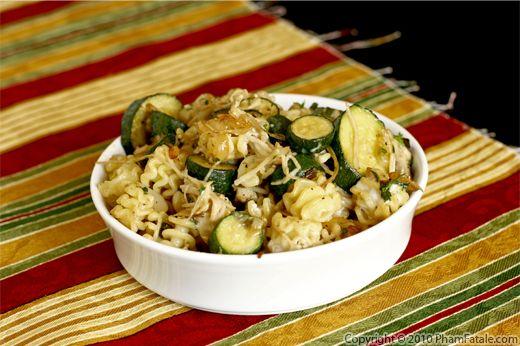 Zucchini Radiatore (Vegetarian Pasta Recipe) Recipe