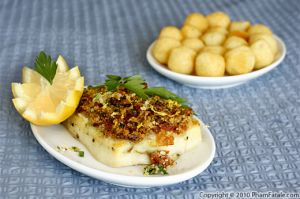 Lemon Crusted Fish (Baked Mahi Mahi Recipe)
