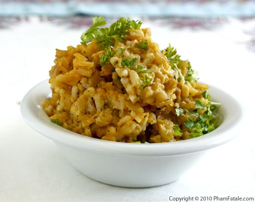 Parmesan Risotto with Wheatberries and Morel Mushrooms Recipe