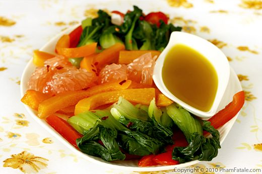 Healthy Grapefruit and Bok Choy Salad Recipe Recipe