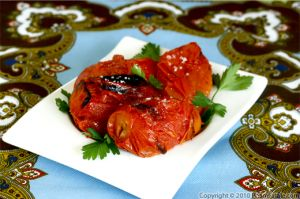 Grilled Tomatoes (Simple Barbecue Recipe)