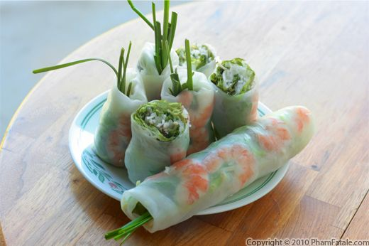 Shrimp Spring Rolls (Vietnamese Roll Recipe) Recipe
