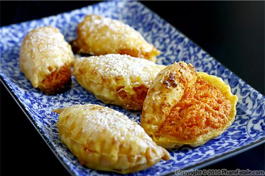 Halwa Dessert Empanada Recipe (International Desserts) Recipe
