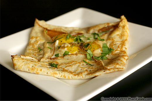 Galette Complete (Savory Crepe Recipe) Recipe