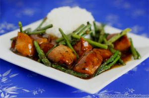 Asparagus Chicken Stir Fry Recipe (Black Bean Sauce Chicken)