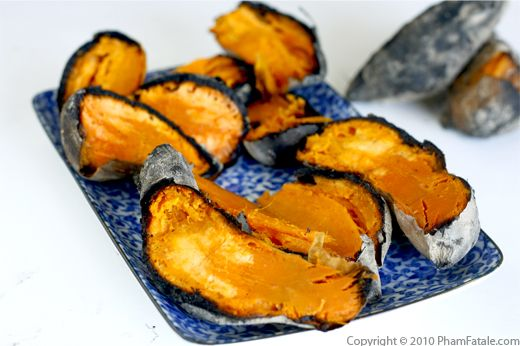 Barbecue Tips: Sweet Potatoes Cooked in the Coals Recipe