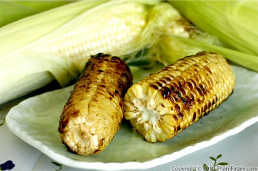 Fire-Roasted Corn in Miso Butter (Grilled Corn on the Cob) Recipe