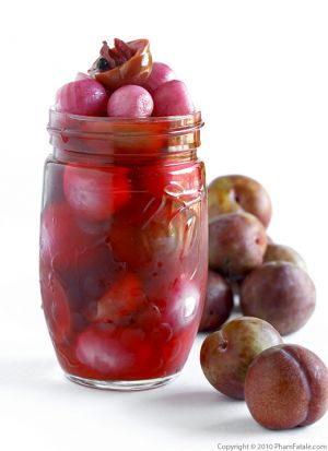 Pickled Plums and Onions (Home Canning Recipe)