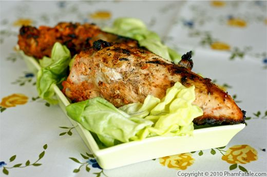 Grilled Tandoori Chicken Recipe Recipe
