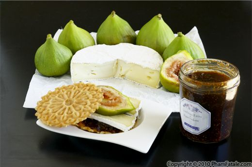 Fig Cheese Snack Recipe with Picture