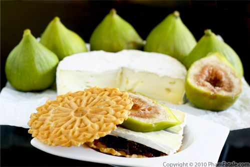 Back to School Lunch Ideas: Fig Cheese Appetizer Recipe Recipe