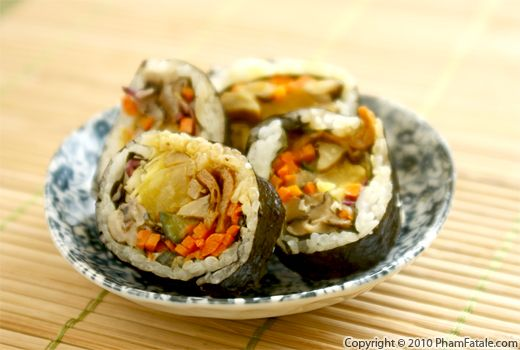 Octopus Sushi (Cooked Sushi Recipe) Recipe