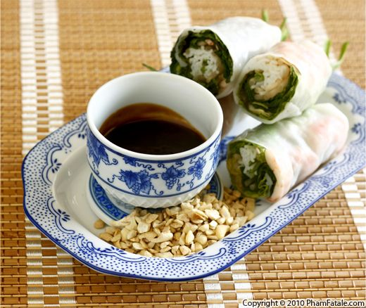 Vietnamese Peanut Hoisin Dipping Sauce Recipe (Tuong Goi Cuon) Recipe