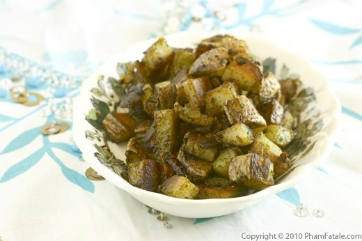 Sauteed Parsley Potatoes (Poelee Pommes de Terre) Recipe