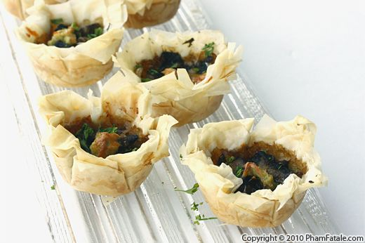 Mushroom Appetizers Recipe with Picture