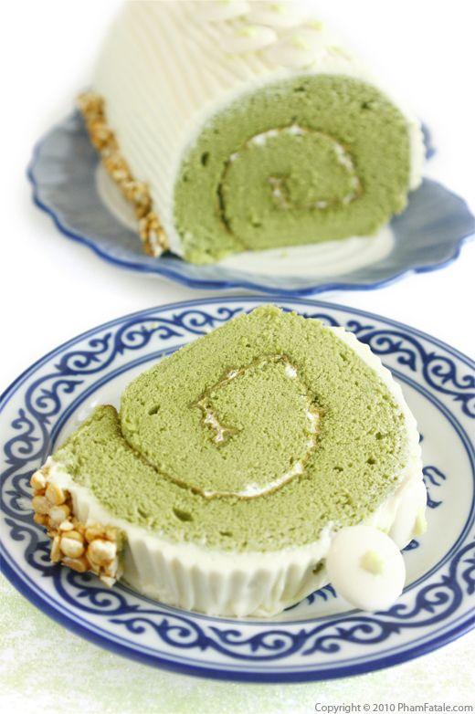 Green Tea Cake Roll Recipe  Recipe