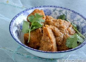 Taro Root Korma Recipe