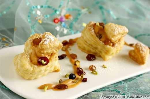 Michael Mina's Butterscotch Pudding (Vol Au Vent Pastry Recipe) Recipe