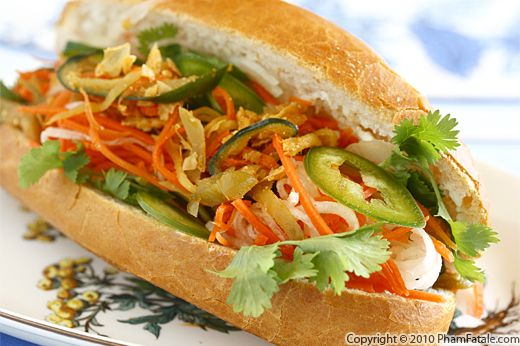 Banh Mi Mam Chay (Vietnamese Vegetarian Sandwich Recipe) Recipe