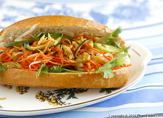 Vietnamese Sandwich Recipe with Picture