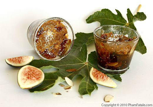 Fig Crumble Dessert (Fruit Crumble Recipe) Recipe