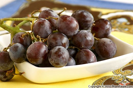 Fresh Kyoho Grapes Recipe