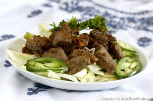 Bo Luc Lac Recipe: Vietnamese Beef Dish
