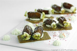 Stuffed Dates with Pistachios