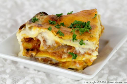 Butternut Squash Lasagna Recipe with Picture