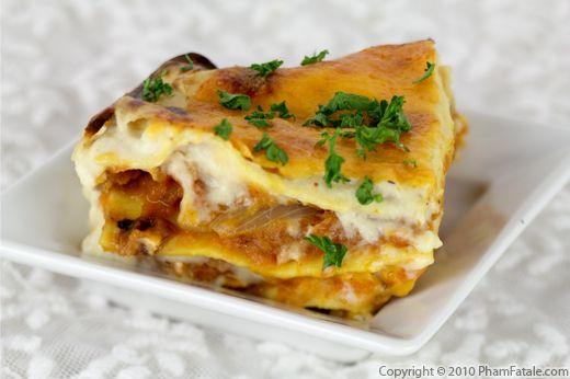 Butternut Squash Lasagna Recipe with Picture