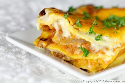 Butternut Squash Lasagna Recipe Recipe