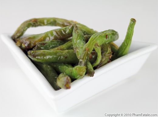 Sauteed String Beans (Chinese Green Bean Recipe) - Pham Fatale