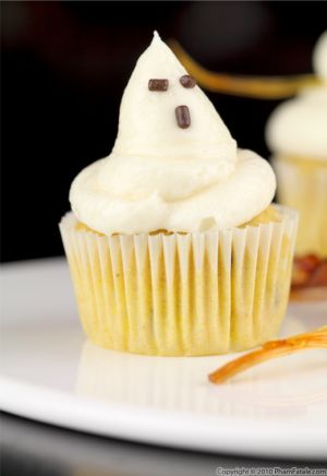 Pumpkin Cupcake Recipe with Picture