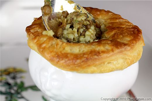 Vegetarian Pot Pie with Lentil Pasta Recipe