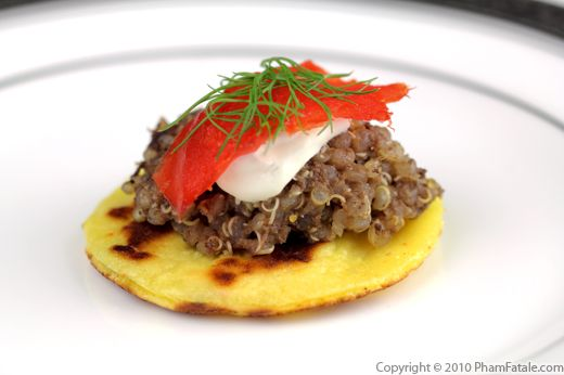 Potato Blini Recipe with Picture