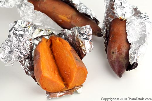 Oven Baked Yams Recipe