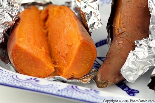 Oven Baked Yams Recipe with Picture