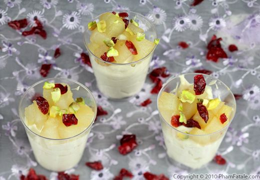 Thanksgiving Leftovers: Cranberry Pear Dessert Recipe Recipe
