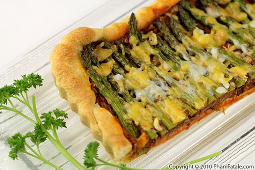 Asparagus Tart (Savory Tart Recipe) Recipe