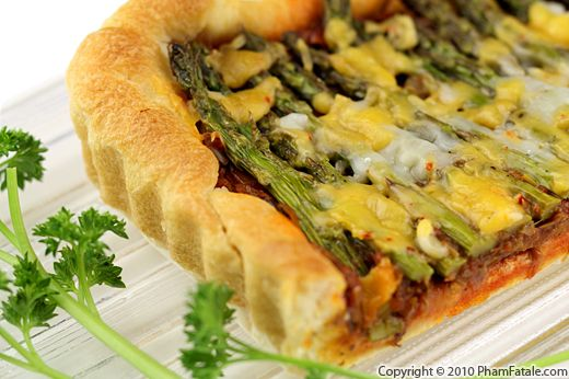 Asparagus Tart Recipe with Picture