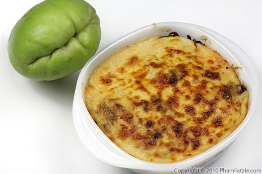 Gratin de Christophine (Chayote Squash Recipe) Recipe