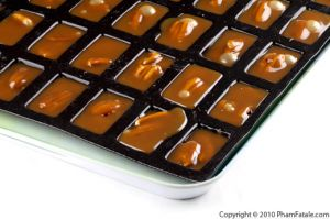 Chewy Pecan Caramels with Cardamom