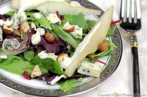 Blue Cheese Pear Salad Recipe