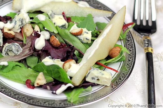 Blue Cheese Pear Salad Recipe Recipe