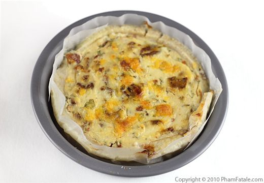 Savory Cheesecake Recipe with Picture
