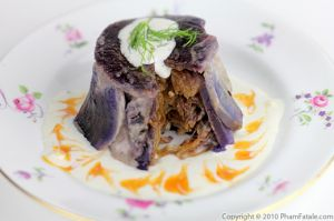 Purple Potato Timbale Recipe with Picture