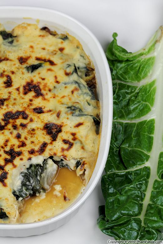 How to Cook Swiss Chard: Vegetable Gratin Recipe Recipe
