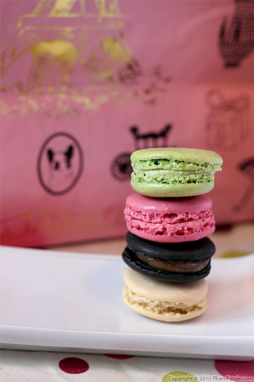 Macarons from Ladurée Recipe