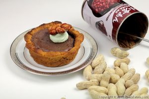 Chocolate Red Bean Pie Recipe